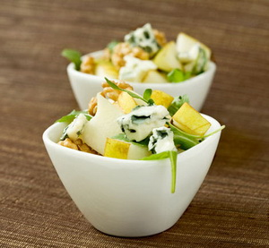 caramel quince salad