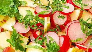 quince salad