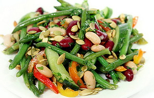 salad s fasol