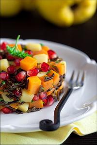 salat s granatom